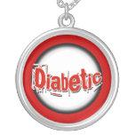 Diabetic   alert   emergency jewellery necklace