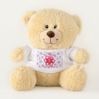 Diabetic Bear Personalized