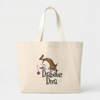 Diabetic Diva Jumbo Tote Bag