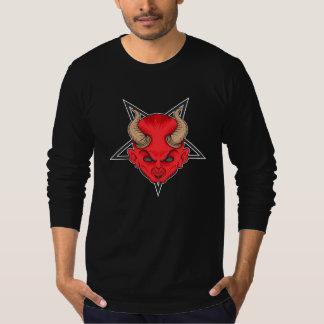 Diable rouge artistique t-shirt