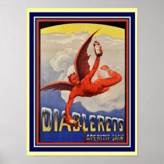 Diablerets Apertif 12 x 16 Poster