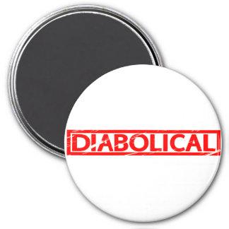 Diabolical Stamp Magnet