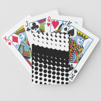 Diag Half Tone Bicycle Playing Cards