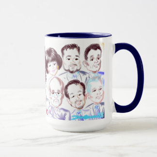 DIAGEO Caricatures Mug 2017