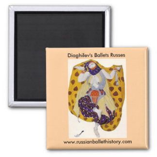 Diaghilev's Ballets Russes Magnet