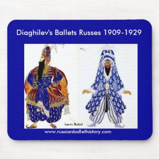 Diaghilev's Ballets Russes Mousepad