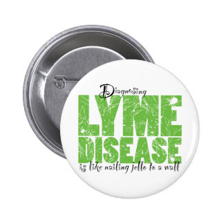 Diagnosing Lyme Disease Buttons