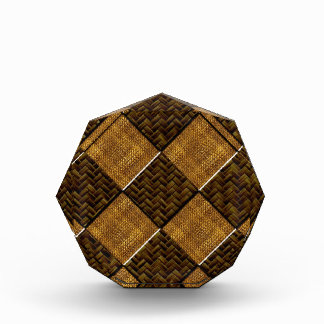 Diagonal Checkered Bamboo Art.multiple products se