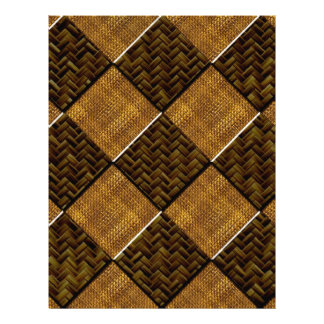 Diagonal Checkered Bamboo Art.multiple products se Letterhead Design