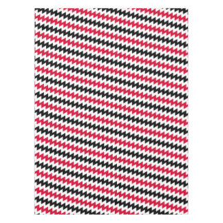 Diagonal chevron stripes tablecloth