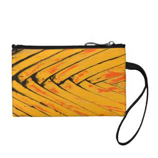 diagonal coin wallet