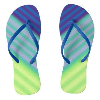Diagonal Contrast Flip Flops