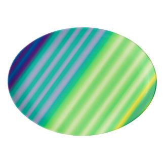 Diagonal Contrast Serving Platter
