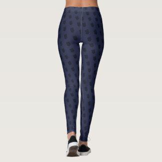 Diagonal Crest Leggings