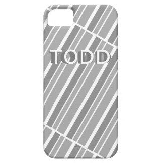 """Diagonal Lines"" Contemporary Design iPhone 5 Cases"