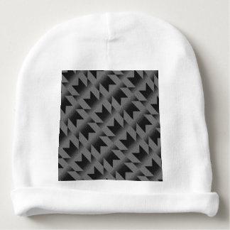 Diagonal M pattern Baby Beanie