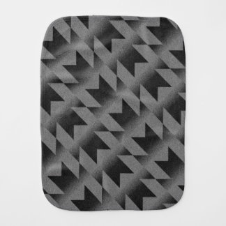 Diagonal M pattern Burp Cloth