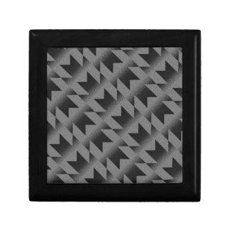 Diagonal M pattern Gift Box