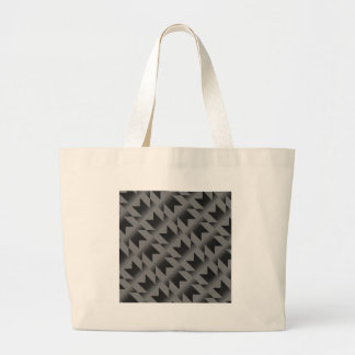 Diagonal M pattern Large Tote Bag