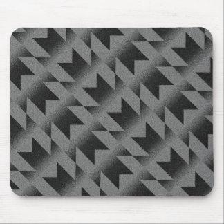Diagonal M pattern Mouse Pad