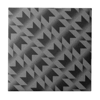 Diagonal M pattern Tile