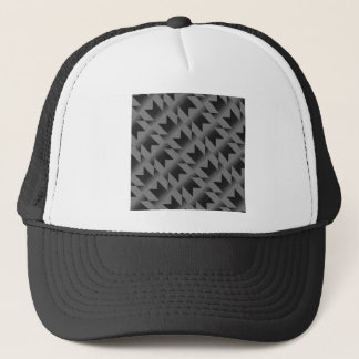 Diagonal M pattern Trucker Hat
