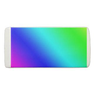 Diagonal Rainbow Gradient Eraser