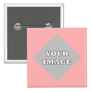 Diagonal Square Photo Frame Button