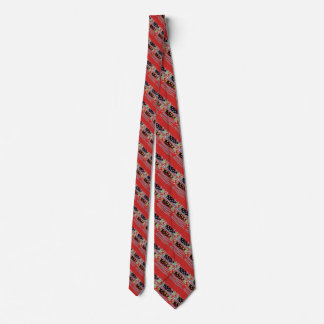 diagonal striped migrating fish any color tie