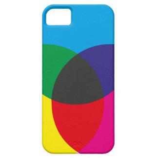 Diagramme de mélange de couleur soustractive étui iPhone 5