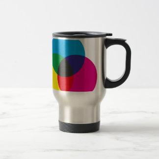 Diagramme de mélange de couleur soustractive mug
