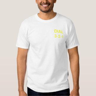 Dial 3-2-1 tee shirt