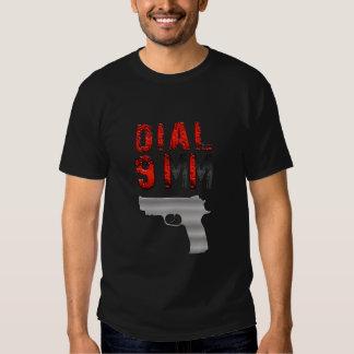 Dial 911 t shirt