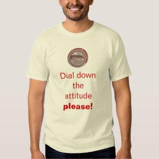Dial it Down Tee Shirt