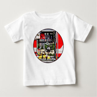Dials and Hoses on Fire Truck Baby T-Shirt