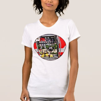 Dials and Hoses on Fire Truck T-Shirt