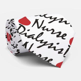 Dialysis Nurse Blood Drop Tie
