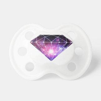 Diamant cosmique sucettes pour bébé