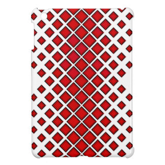 Diamomds Large to Small Red Case For The iPad Mini