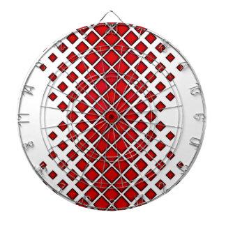 Diamomds Large to Small Red Dartboard