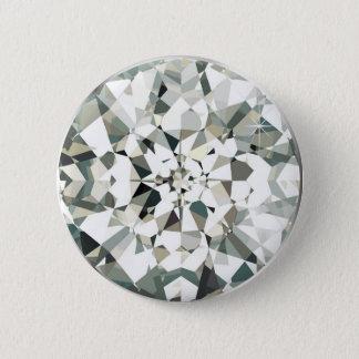 Diamond 2 Inch Round Button