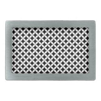 Diamond #2 rectangular belt buckle