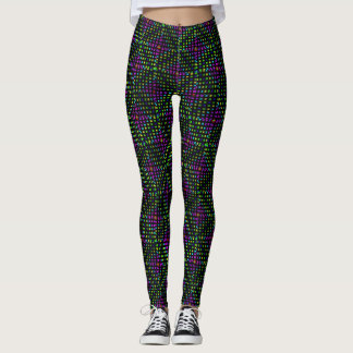 Diamond Abstract Pattern, Leggings
