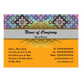 Diamond Alternate Business Card Templates