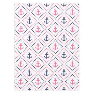 Diamond Anchor NP Tablecloth