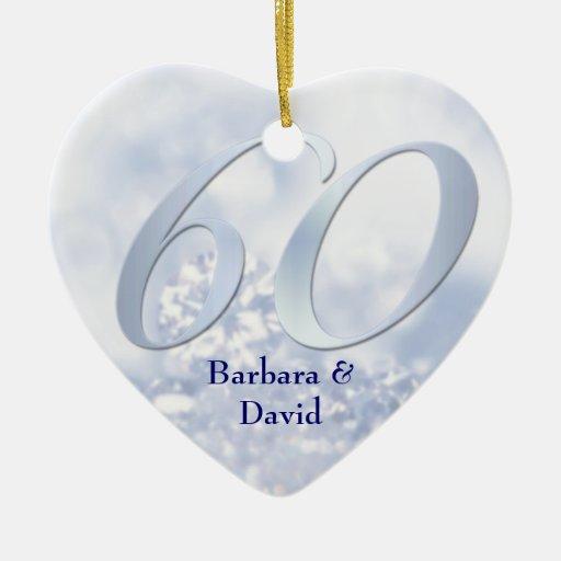Diamond Anniversary Ornament
