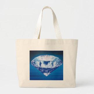 Diamond Canvas Bags