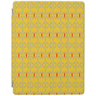 diamond bars tablet smart cover case mustard iPad cover