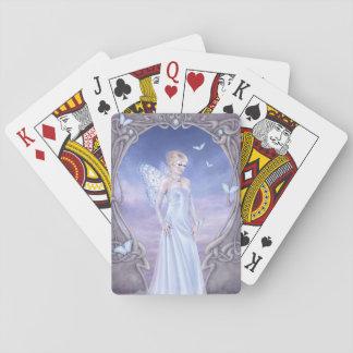 Diamond Birthstone Fairy Classic Playing Cards