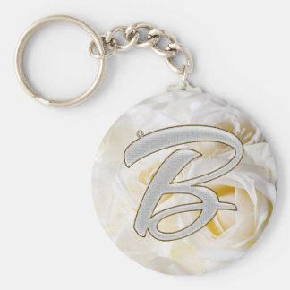 Diamond Bling B Keychain